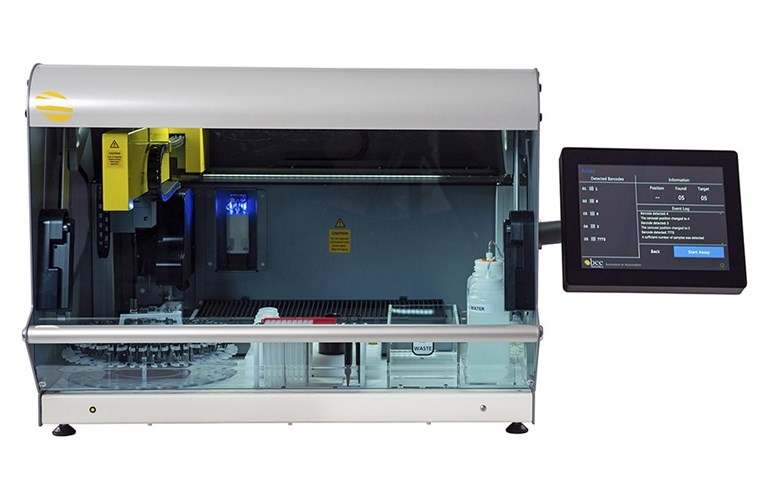 Fully automated system for Molecular and Western Blot strip assays